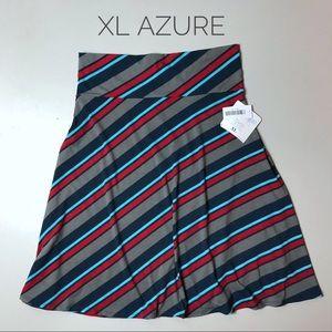 LuLaRoe Azure Skirt XL